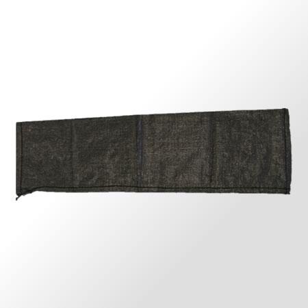 UVブラックまくら土のう 25×90cm 300枚入 カンバラ 耐候3年品 シB 代引不可