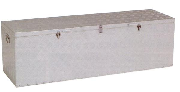 【北海道配送不可】 トラック用アルミボックス 荷台用道具箱 アルミ製 特大 BXA150 アR【代引不可】