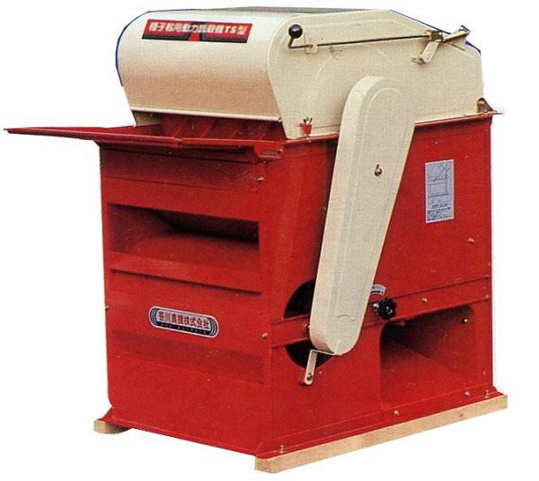 【個人宅配送不可】 動力脱穀機 TSR型 モーターなし 穀物投入型脱穀機 笹川農機 【代引不可】