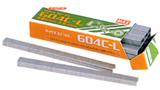 【200箱】【 604C-L 】マックステープナー 用 ステープル 結束荷重が軽い C-Lタイプ 28連(4,800本) ×200箱 カ施【代引不可】