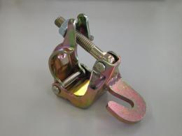【40個】 ひっかけクランプ フックタイプ 48.6 42.7 兼用 単管 単管パイプ に アMD