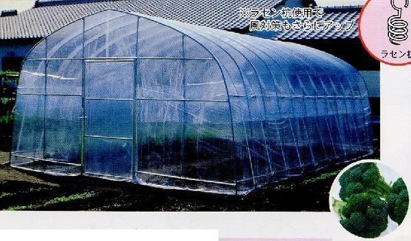 【大型配送】【 9.5坪 用】 ビニールハウス 菜園ハウス H-4572 9.5坪用 西7 南栄工業 D