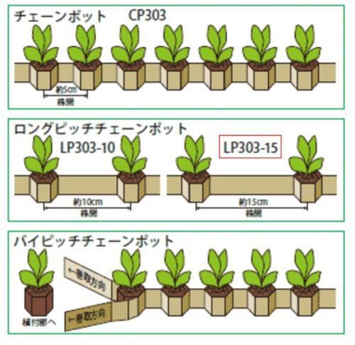 【75冊】チェーンポット ペーパーポット LP303-15 264鉢 ニッテン 日本甜菜製糖 タ種DPZZ, 住宅地図の専門書店 ジオワールド:8bd93a5d --- thrust-tec.jp