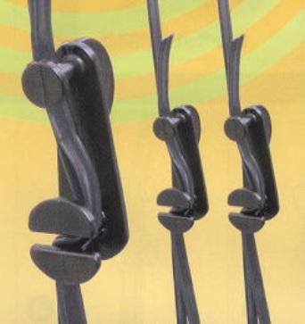最新 ビニールハウス部材 クルクルバンド オーバーのアイテム取扱☆ 小 50個入 清樹DNZ ビニールハウス用ハウスバンド止め 締め具