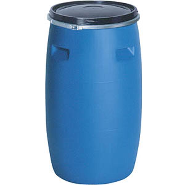 プラスチック ドラム缶 オープンタイプ PDO 200L-1 セット un有 ブルー プラ ポリ サンコー サ伏【代引不可】