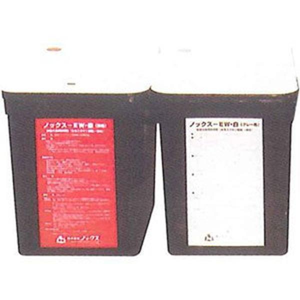 【個人宅不可】【北海道不可】ノックスEW 16kg 缶 (錆色・グレー) 鉄筋 防錆剤 ノックス 長期 NETIS 登録商品共B 【代引不可】