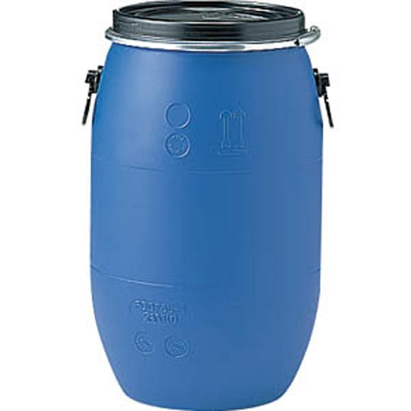 プラスチック ドラム缶 オープンタイプ PDO 75L-1セット un有 ブルー プラ ポリ サンコー サ伏【代引不可】