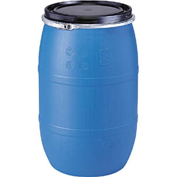 プラスチック ドラム缶 クローズドタイプ PDC 200L-2セット(持手有) ブルー プラ ポリ サンコー サ伏【代引不可】