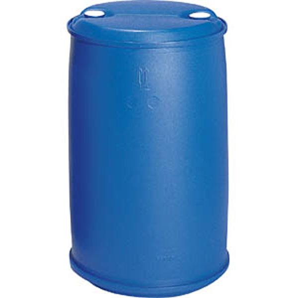 プラスチック ドラム缶 クローズドタイプPDC 200L-1セット(持手無) ブルー プラ ポリ サンコー サ伏【代引不可】