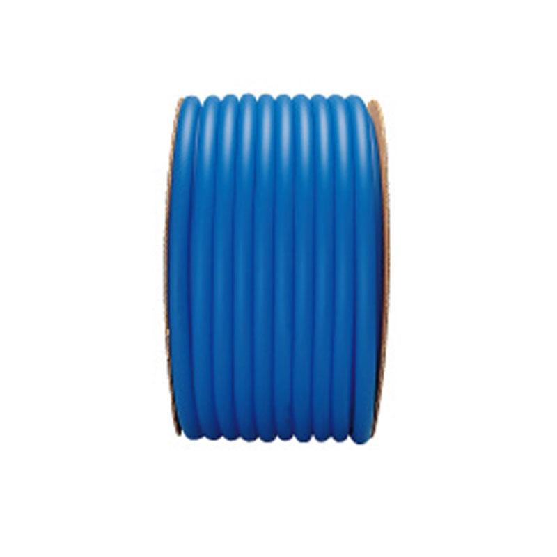 【50m×2個】 ラバーデラックス ホース ブルー 内径 15mm ×外径 22mm ねじれに強い ソフトホース 中部ビニール カ施 【代引不可】