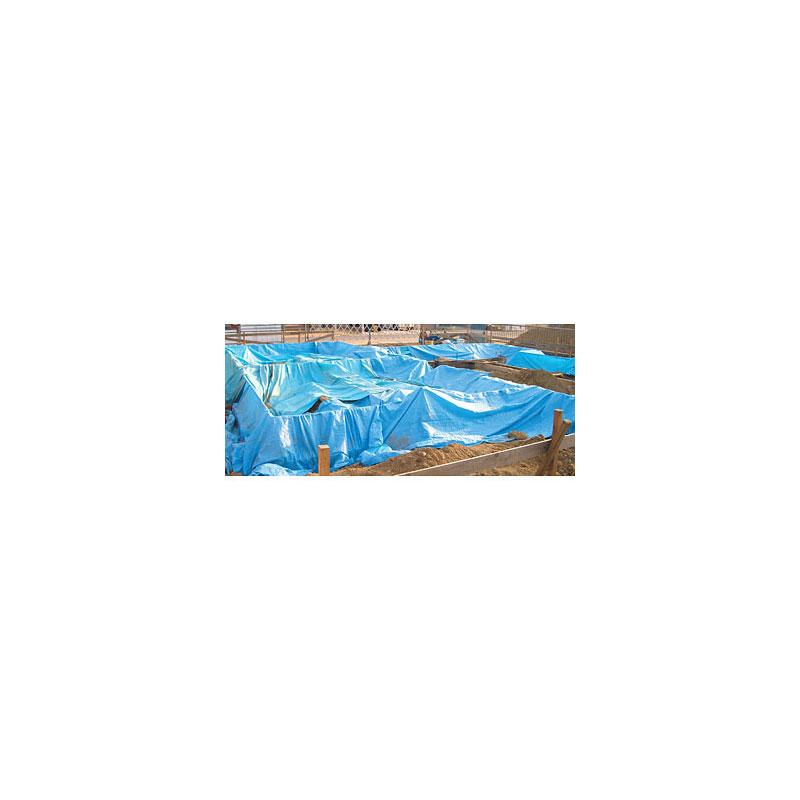 10枚 Zシート #2200 3.6m×5.4m ブルーシート 萩原工業 ツ化D