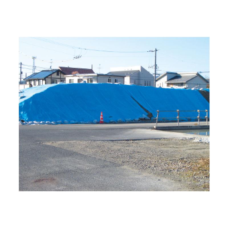 250枚 ブルーシート #3000 ターピーシート 1.8 × 1.8 m ブルー 萩原工業製 国産日本製 ツ化 代引不可