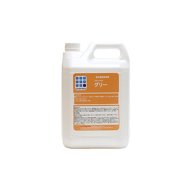 【3本入り】 グランバイオグリー 5L 油脂分解型浄化剤 浄化剤 カイコーポレーション【代引不可】