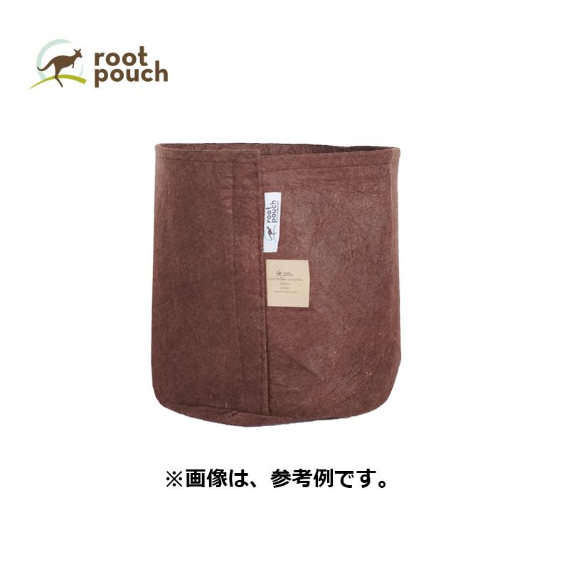 【25個】 ルーツポーチ Root Pouch #3 Brown 持手なし W25.5cm H21.5cm 約 12L 非生分解性タイプ 不織布 鉢 植木鉢 おしゃれ お洒落 オシャレ 三冨D
