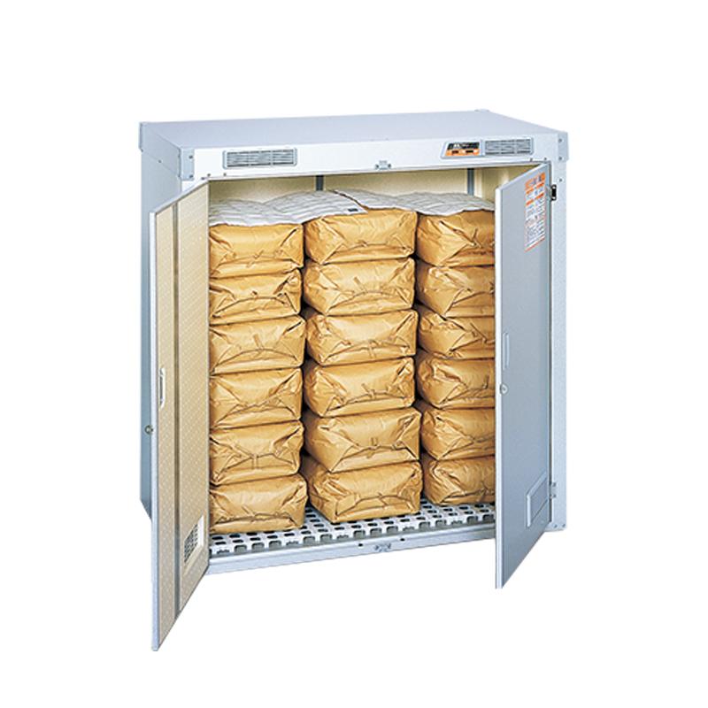 米保管庫 晴れっ庫 換気ファン付 RSS-118S 組立式 米 除湿 多目的収納 家庭用 エムケー精工 金T 代引不可