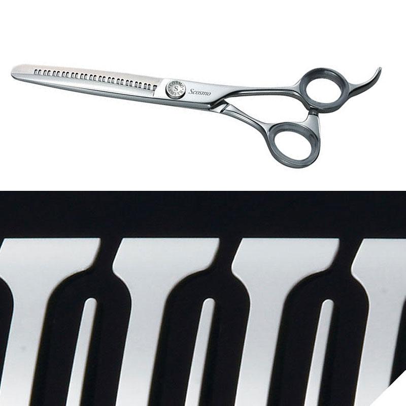 理容師 美容師 ハサミ YS R13 slender 逆刃 6インチ マスターシリーズ 90773 すきバサミ セニングシザー カットハサミ プロ 高級 はさみ 日本製 S.cosmo コスモスミス H