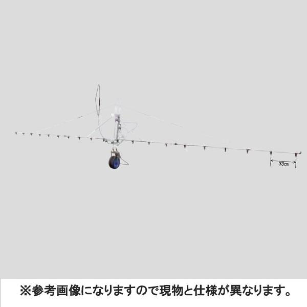 中持カート S型 18頭口 新 広角 スズラン ( G3/8 ) (121766) ヤマホ 工業 防J【代引不可】