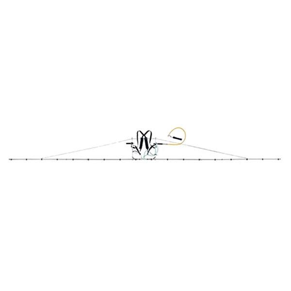 中持 ブーム G型 18頭口 ラウンド 25タイプ ( G3/8 ) (152154) ヤマホ 工業 防J【代引不可】