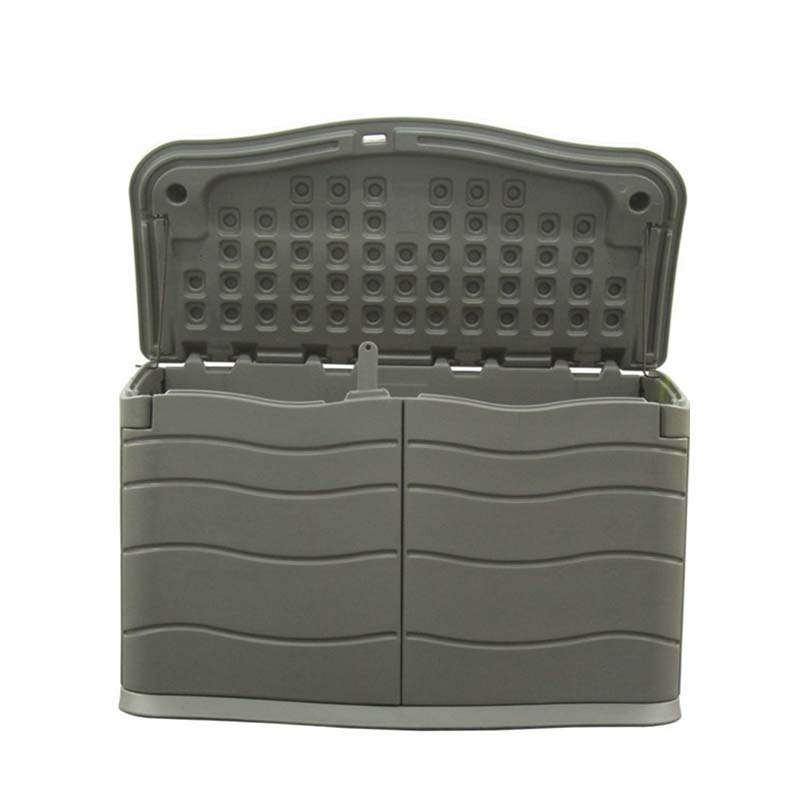 個人宅配送不可 大型樹脂ダストボックス ABS-400GY 大型収納庫 アS 代引不可