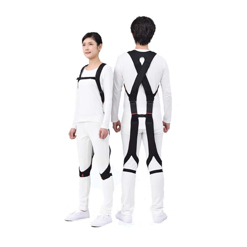 <title>着るだけで トレンド 前屈時の腰の負担が楽になる 腰部サポートウェア NEWラクニエ Sサイズ タ種 代引不可</title>