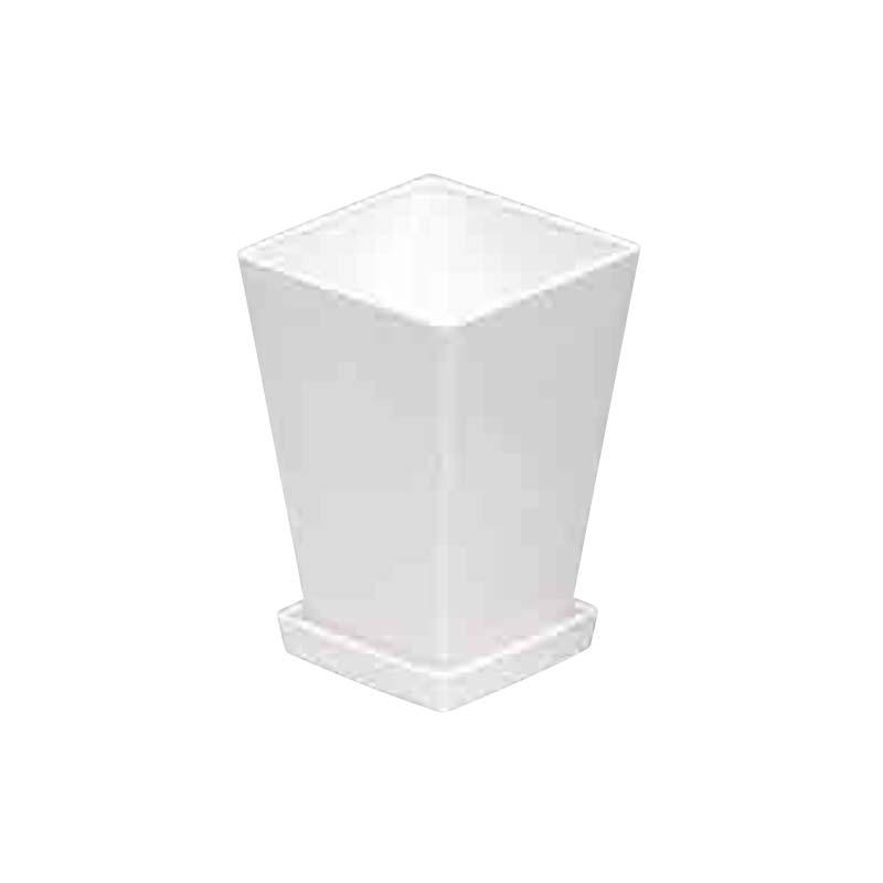 【117個】 #1431 プラスチックポット #1431 KLシリーズ 鉢と皿セット 5寸 高さ185 白 白 縦128mm 横128mm 高さ185 鉢 明和 明W【代引不可】, Queen Collection:76802bd1 --- ferraridentalclinic.com.lb