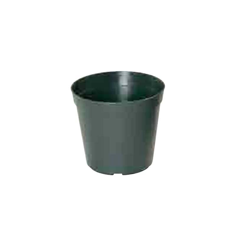 【200個】 #1263 プラスチックポット Nシリーズ N 60 モスグリーン 外径174mm 高さ155mm 緑 鉢 明和 明W 【代引不可】