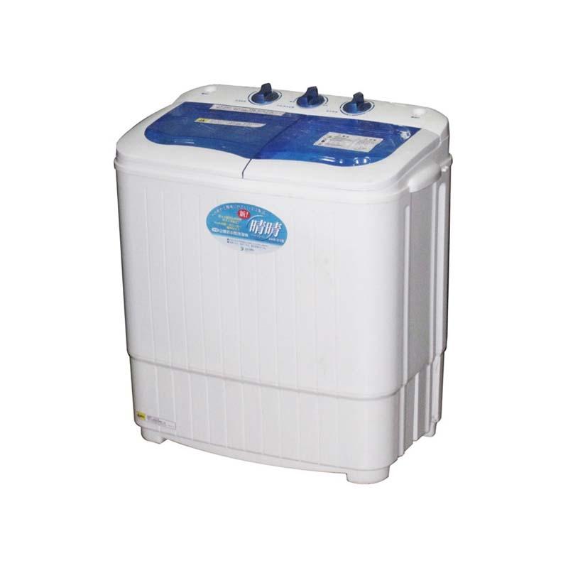 2層式小型洗濯機 新! 晴晴 AHB-03 洗濯2.8kg 脱水1.8kg 二層式 アS 代引不可