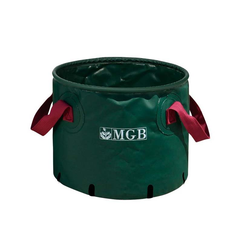 【25個】 #5503 マルチガーデンバック MGB モスグリーン 外径480mm 高さ400mm 緑 鉢 明和 明W 【代引不可】