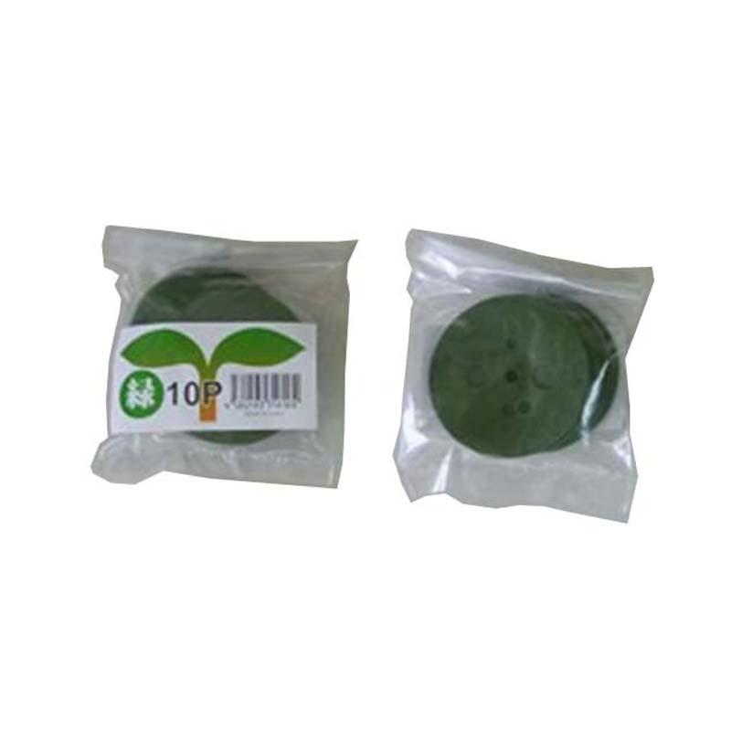 緑丸 【1000個】 10P入りX100袋 SLP-60-G 防草シート 人工芝 マルチシートの押さえに シN 【代引不可】