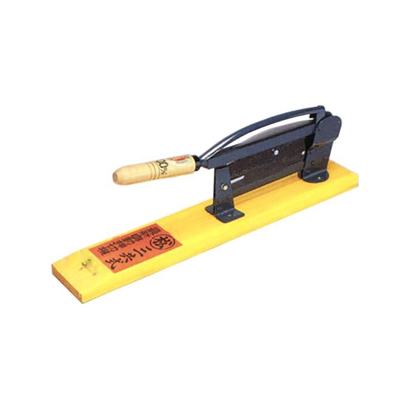 自動押切器 3号 390mm 松尾刃物製作所 押し切り カッター 三冨D