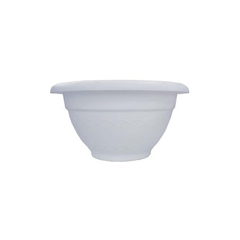 【個人宅配送不可】 【60個】 AZボールプランター 300 ホワイト 丸型 ポット 鉢 白 安全興業 【代引不可】