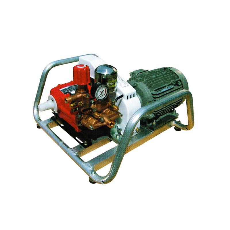 ハツタ モーターセット動噴 (アルミフレーム) LP300DX-LK2.2kW 初田工業 散布 洗浄 噴霧機 防J【代引不可】