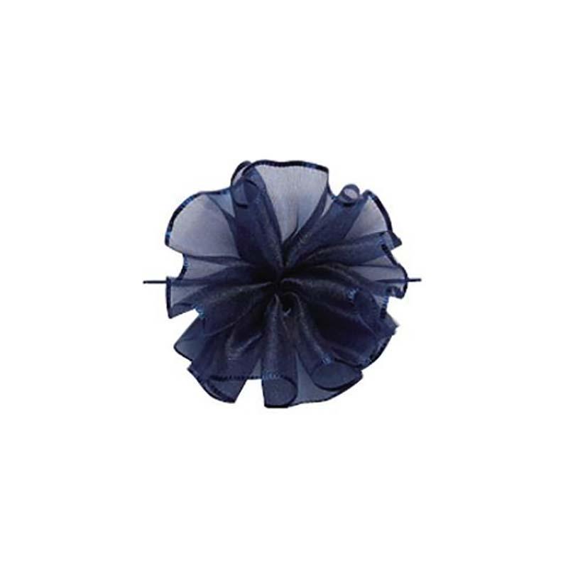 10セット 東京リボン ワンタッチソフトオーガンジー ナイトブルー [ 24mm×10m ] リボン コサージュ ギフト ラッピング 贈り物 カ園 代引不可