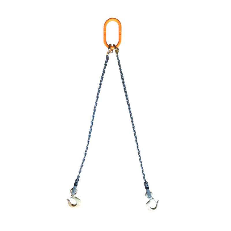 吊具 パレットツール (パレットリフティングシステム) 天びん用2本吊スリング PCD 5.6×2m 有効長2m [大きな積荷 網パレットの吊り上げ] スリーエッチ HHH H