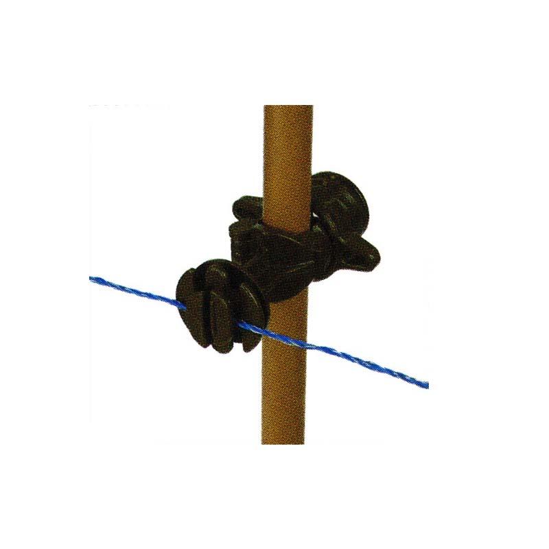 漏電しにくい樹脂製の電気さく用ガイシです 100個入 タイガー 樹脂ガイシ 大人気! G1320 TBS-G1320 ボーダーショック 電気さく用 13~20mm径対応 代引不可 獣害防止 バーゲンセール ハオ