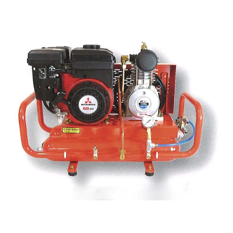 エンジンコンプレッサー PM2C TAC-PM12C ポータブル2倍型 ハサミ2丁取付可 エアーコンプレッサー タイガー ハオ 代引不可