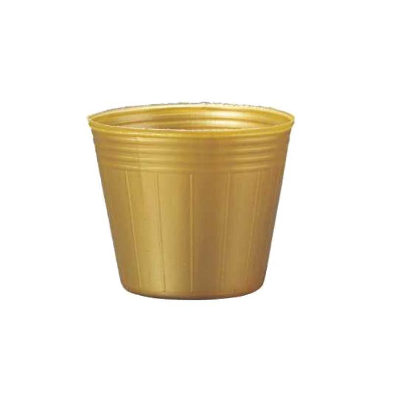 [20,000個] TOカラーポット 9cm 金 丸型 ポリポット ゴールド TOKAI ポット苗 育苗ポット 花 野菜 東海化成 タ種 [代引不可]