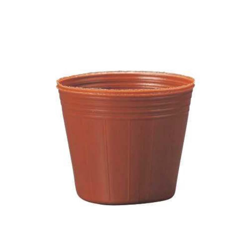 人気が高い 茶 9cm 育苗ポット ポリポット 野菜 TOカラーポット 東海化成 タ種 []:農業用品販売のプラスワイズ 丸型 TOKAI ポット苗 000個] 花-ガーデニング・農業
