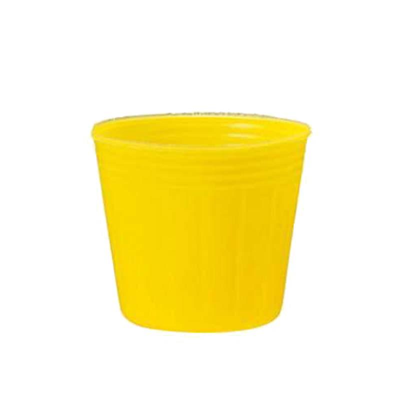 [5,000個] TOカラーポット 15cm 黄 丸型 ポリポット TOKAI ポット苗 育苗ポット 花 野菜 東海化成 タ種 [代引不可]