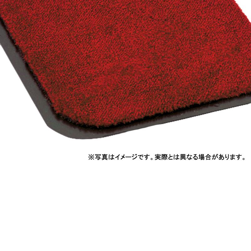 【個人宅配送不可】 トピックマット 12号 90 × 120 (cm) 色:赤 耐候性 耐摩耗性 カーペット 大一産業 共B 【送料無料】 【代引不可】