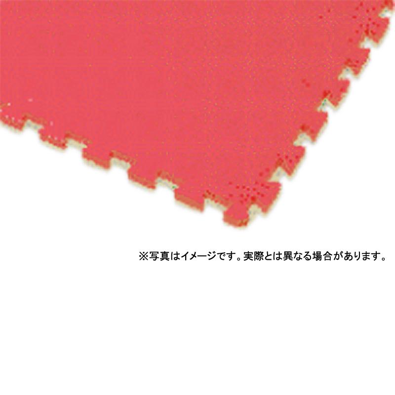 【個人宅配送不可】 ソフトエバスノコ V-300 90 × 90 (cm) 色:赤 ウレタン素材 クッション性 カーペット 大一産業 共B 【送料無料】 【代引不可】