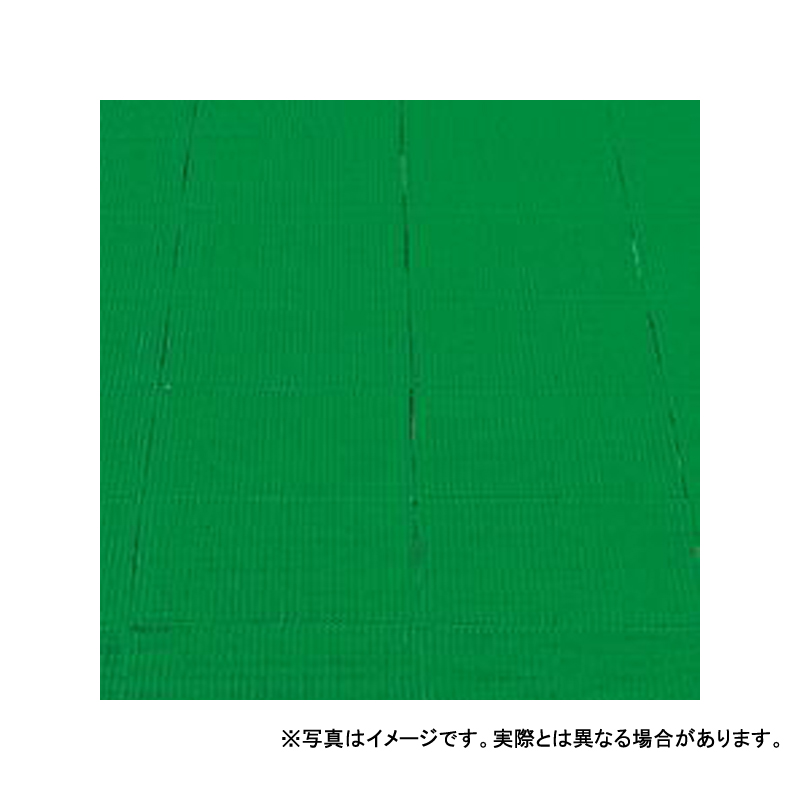 【個人宅配送不可】 ジャスティロールスタンダード 特大 75 × 90 (cm) 色:緑 ハニカム構造 高周波エッジ付き カーペット 大一産業 共B 【送料無料】 【代引不可】