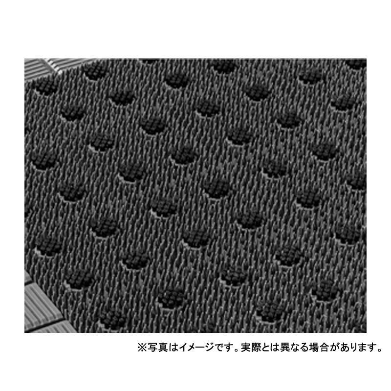 【個人宅配送不可】 キングブラッシュマット 12号 90 × 120 (cm) 色:灰/黒 アクリフト樹脂 寒冷地対応 カーペット 大一産業 共B 【送料無料】 【代引不可】
