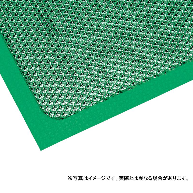 【個人宅配送不可】 エントラップ・スタンダード・アンバック ロール 90 × 18m (cm) 色:緑 オープンZ型構造 薄型タイプ カーペット 大一産業 共B 【送料無料】 【代引不可】