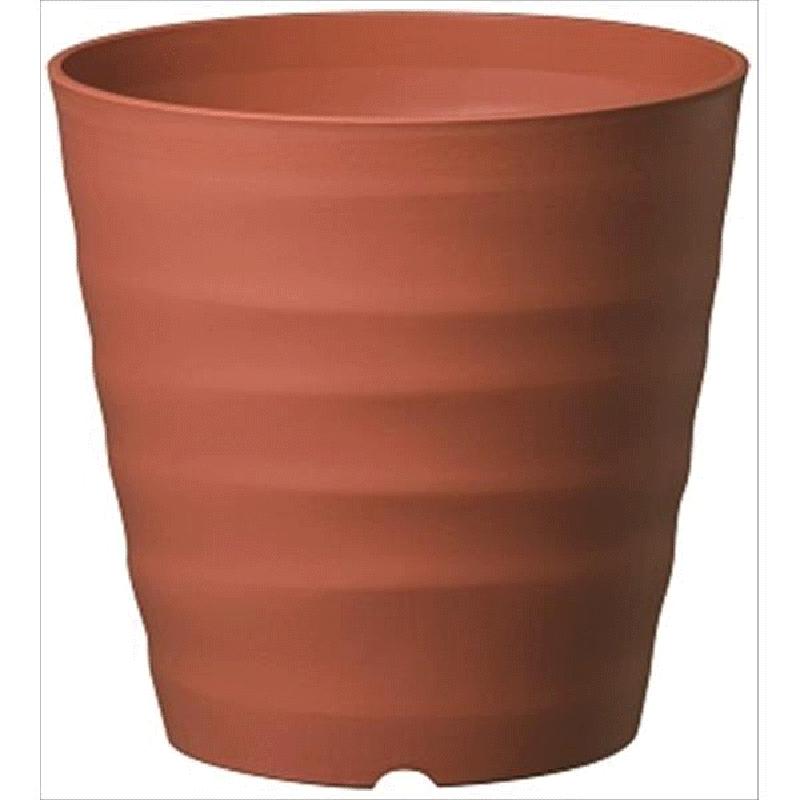 【40個】 フレグラーポット 24型 ブラウン ポット 鉢 おしゃれ ガーデニング 素焼き感 ヤマト タ種 【送料無料】【代引不可】 大和
