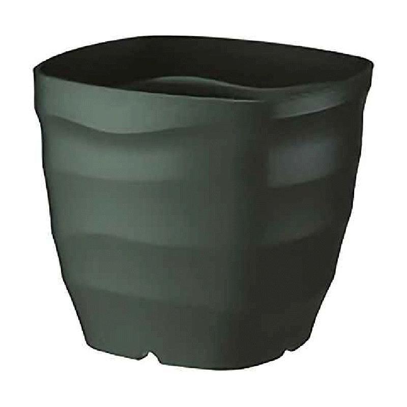 【24個】 フレグラースクエアポット 28型 ダークグリーン ポット 鉢 おしゃれ ガーデニング 素焼き感 ヤマト タ種 【送料無料】【代引不可】 大和