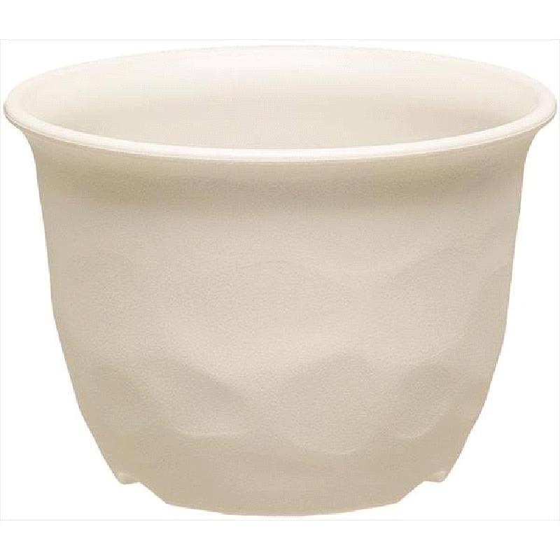 40個 ノーミィローポット 9号 アイボリー ポット 鉢 おしゃれ 土の風合い ヤマト タ種 代引不可 大和