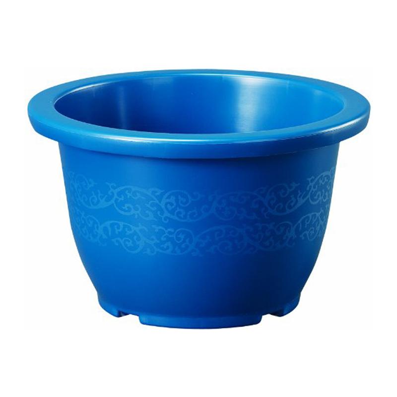 20個 りん鉢 10号 ブルー ポット 鉢 多様なサイズ ベーシックポット ヤマト タ種 代引不可 大和