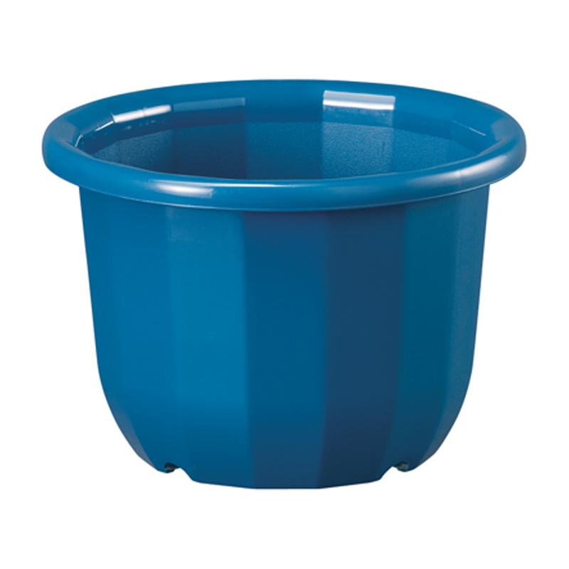 60個 中輪鉢 6号 ブルー ポット 鉢 植え替え ベーシックポット ヤマト タ種 代引不可 大和