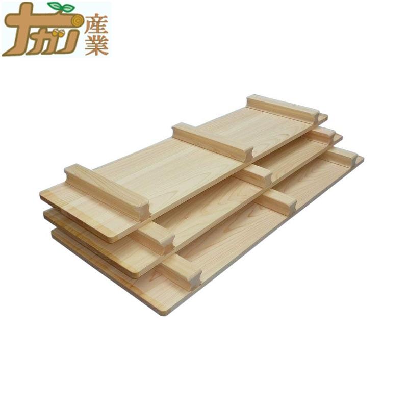 天然ひのき風呂ふた 70×100cm 4枚組 桧 ふろ 蓋 ナガノ産業 ナG 代引不可